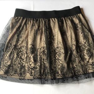 Forever 21 + plus size 16 lace skirt